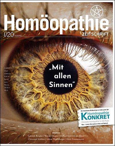 Homöopathie Zeitschrift I 2020